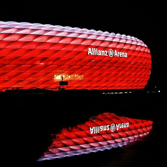light and reflection München Allianz Arena Allianz Night Welcome To Black The Architect - 2017 EyeEm Awards