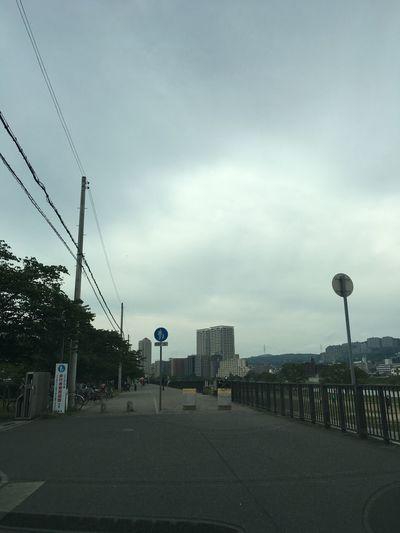 武庫川 Mukogawa Takarazuka 宝塚 Sky Cloud - Sky Street Nature City Built Structure Architecture Outdoors Tree Day