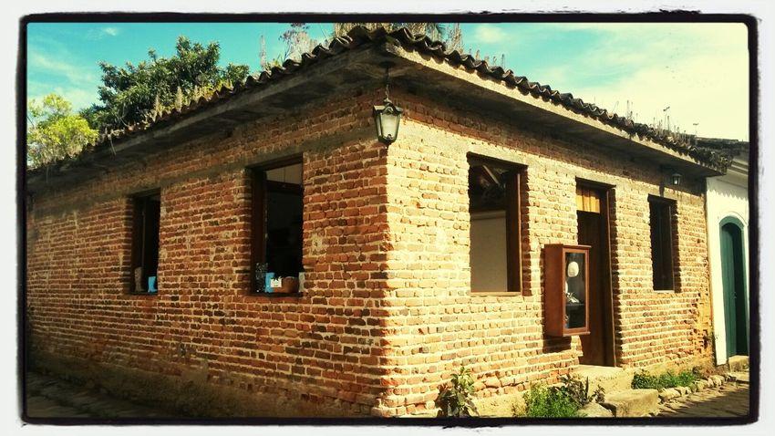 centro histórico de Paraty conservado