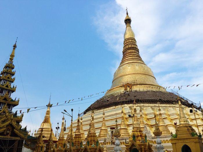 Shwedagon Pagoda Yangon Myanmar Gold