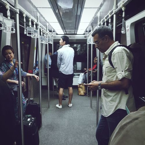 Airport Metro Speed VSCO Vscogood Catching A Flight Between