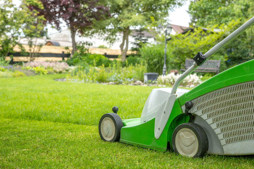 Cut the lawn Cut Cutting Gardener LawnMowing Machine Service Bin Composting Cut The Lawn Day Equipment Garden Grass Grass Cutter Green Color Hobby Lawn Lawnmower Mow Nature No People Nobody Oraganic Outdoors