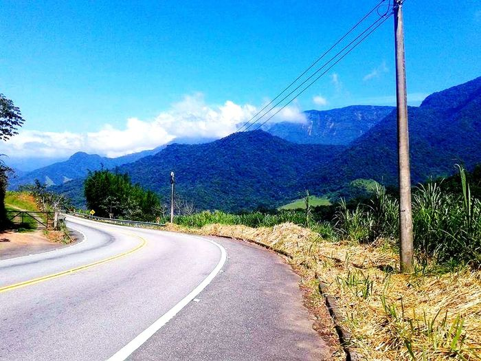 good day Road Mountain Transportation The Way Forward Cloud - Sky Sky Blue First Eyeem Photo
