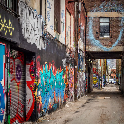Graffiti Alley,