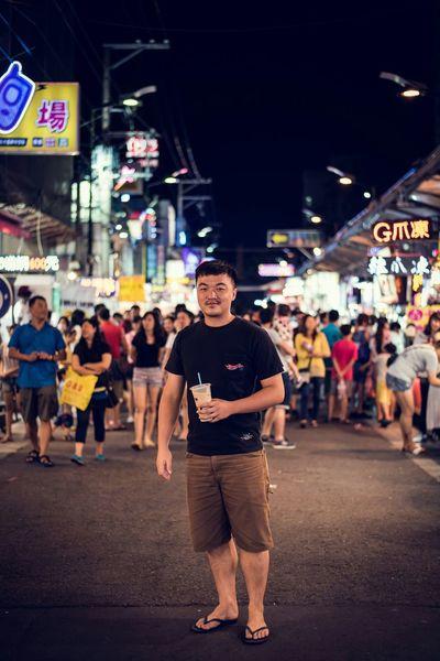 珍珠奶茶 Night Market Taiwan Taichung 突然想喝杯珍奶