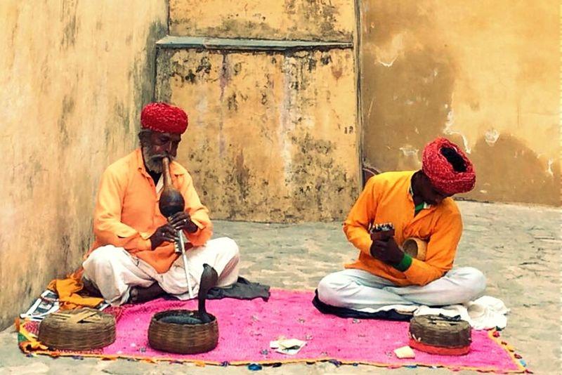 Incredibleindia Rajasthan Living Bold Eye4photography  Snake Charmer Make Magic Happen Snapshots Of Life EyeEm Best Edits My Country In A Photo Jaipur