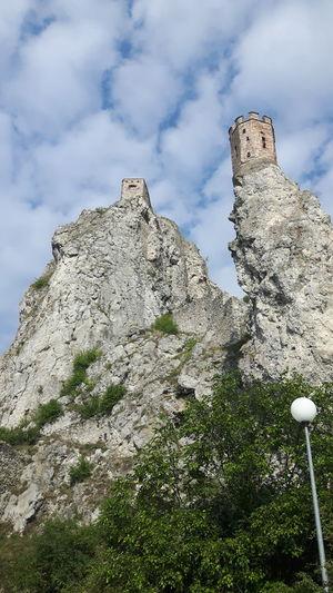 Castle Ruins Tower Devin Castle Slovakia