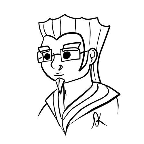 Lunch Doodle June 9th, 2015 Art, Drawing, Creativity Art ArtWork Lineart Digital Art Manga Studio Doodle Doodles Sketch Lunch Doodle