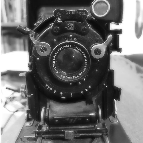 Old Agfa Camera Agfa Old Camera No People Camera - Photographic Equipment Camera Cellularphotography Blackandwhite