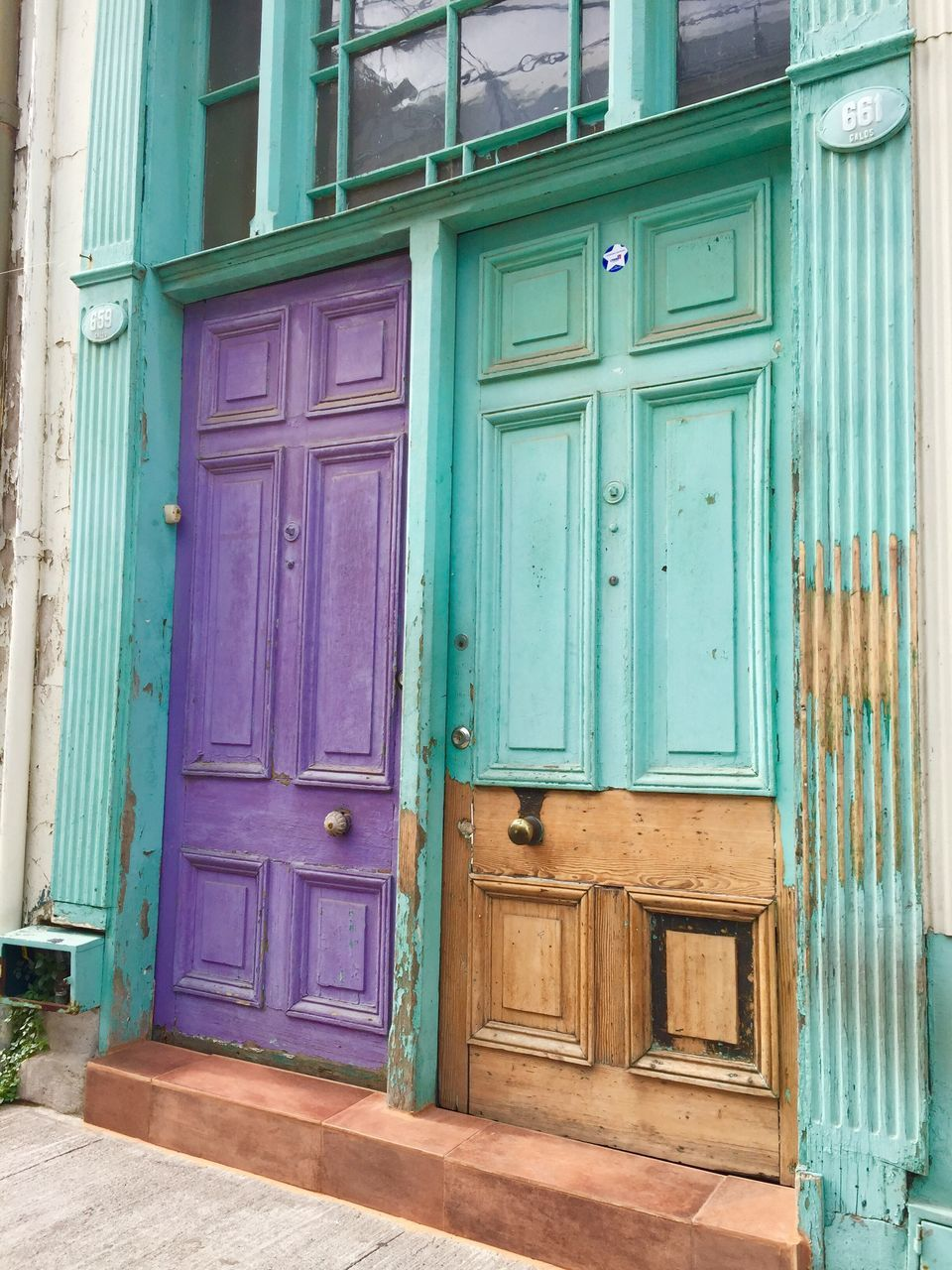 door, wood - material, closed, outdoors, architecture, no people, protection, built structure, day, old-fashioned, building exterior, close-up