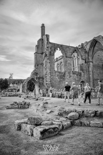Ruins of the monastery in Bolton Abbey. EyeEm Best Shots - Black + White Streamzoofamily Eye4photography  Black And White