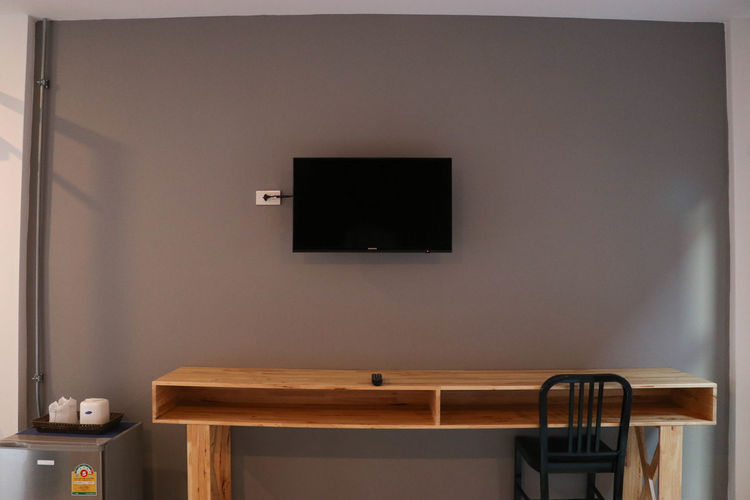 Day Indoors  No People Room Table Tv Vertical Wood