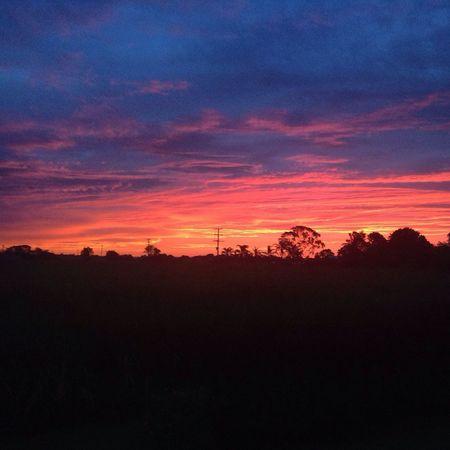 storm cloudRainin Sunset Purple Sky Clouds pretty sunset