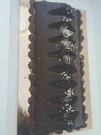 Chocolate Fudge nd Nougat Cake♥ ?