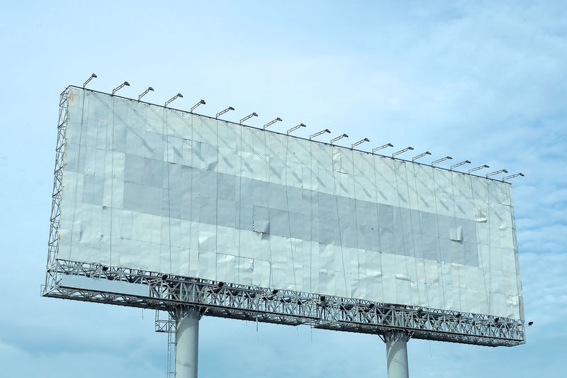 Bank Billboard Billboard Business Business Billboar No People Outdoors Signboard Sky Structure