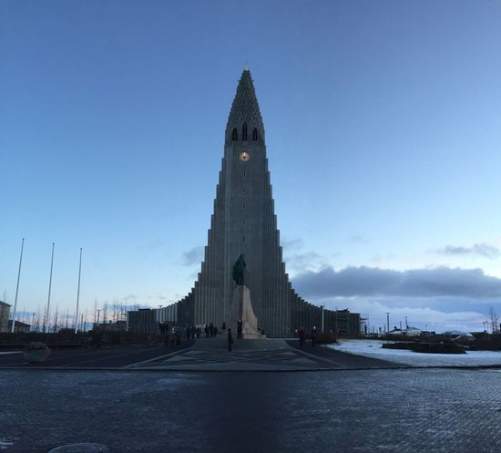 The Hallgrímskirkja Church in Iceland | 2016 Architecture Church Cityscape Day Enjoying Life Hallgrìmskirkja Holy Iceland Memorial No People Outdoors Place Of Worship Sky