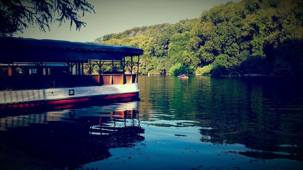 San Marcos Tx Aquarina Springs Lake Glass Bottom Boat