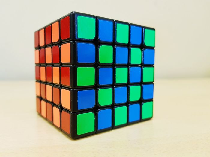 Stack Puzzle  Leisure Games Toy Block Multi Colored Indoors  Gambling No People Day Strategy Game Negocio Intelligence Rubik's Cube Rubik Cubo Stack Business Finance And Industry