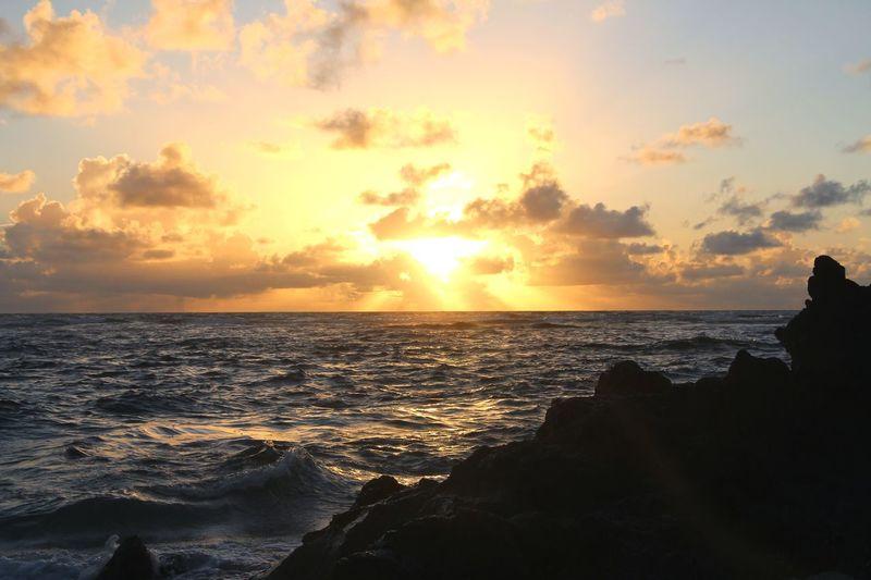 Sunrise Tobago Sunrise Morning Sea Sunset Beach Horizon Over Water Scenics Nature Water Sun Beauty In Nature Travel Destinations Tranquility Sky Cloud - Sky No People Outdoors Vacations Travel