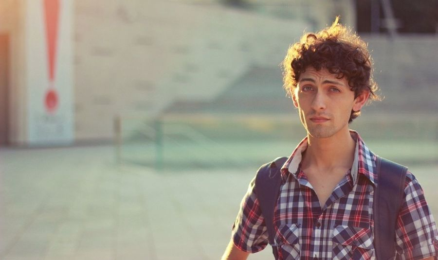 The sun and your worried face (http://instagram.com/pablopoulain) Chile Santiago Canon 6D Man
