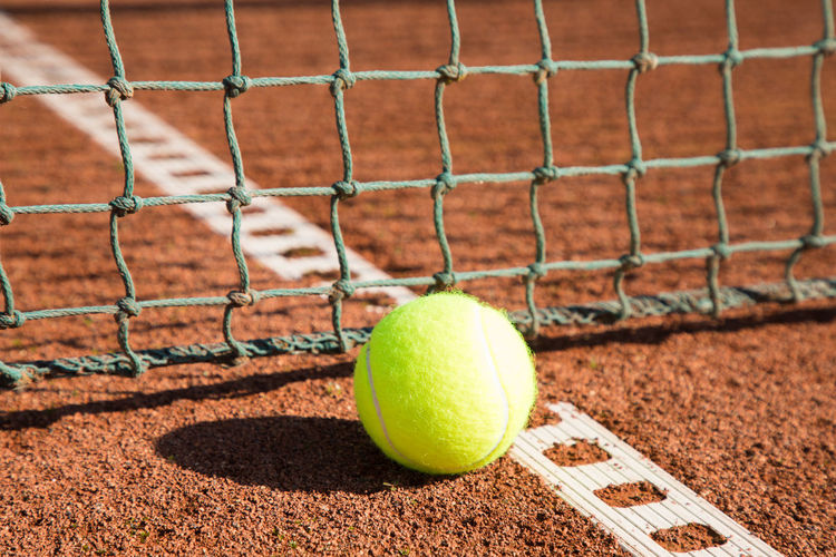 Tennis Ball Court Sport Racket Tennisball Background White Game LINE Leisure Competition Red Summer Closeup Outdoor Clay Recreation  Net Individual Concept Hard Green Tournament Yellow Health Racquet Equipment Play Ash Sand