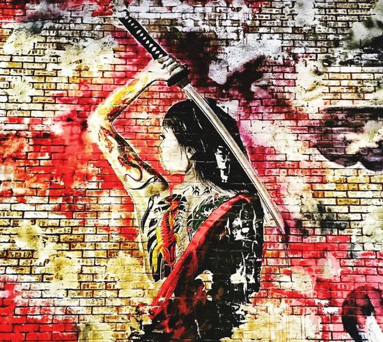 The art they have painted on their walls in this new restaurant are amazing! Samurai and geishas, truly a great place to check out! Hidden Gems  Restaurant New Sake Sushi Potstickers Asian  Samurai