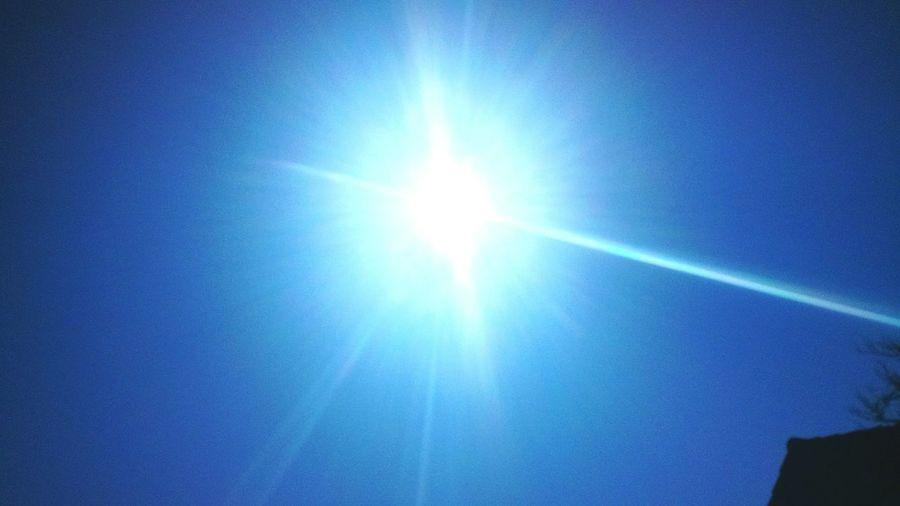 Sunshine ☀ Blue Sky Sunny Days . ☀ Warmth