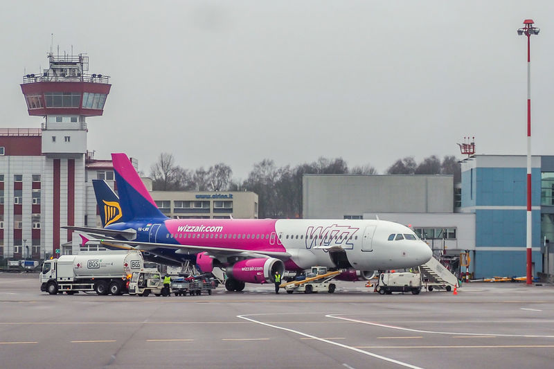 Airbus Airbus A320 Lithuania Vilnius Airport Airplane Airport Airport Runway Architecture Building Exterior Built Structure Day Mode Of Transport Nature No People Onground Outdoors Sky Transportation Vno Wizz Wizzair Wizzair Airplane