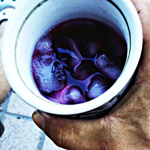 赤紫蘇ジュース Perilla Frutescens Drinks Summer