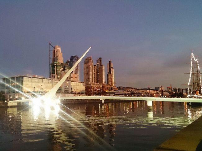 Puente De La Mujer Puerto Madero Buenos Aires, Argentina