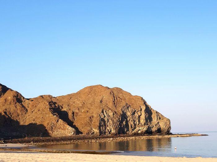 Reflection Sea Snake Like Water Clear Sky Mountain Lake Desert Beach Rock - Object Blue Summer Reflection Rock Formation Rock Calm Geology