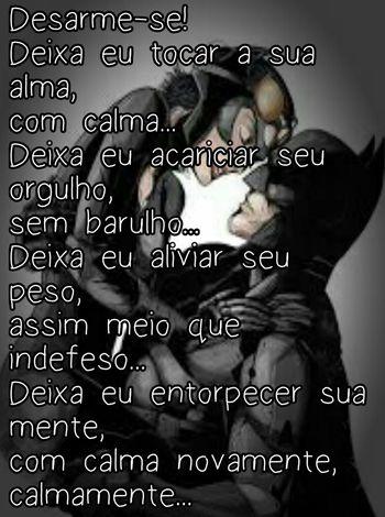 Confidence  Love Text Simplesmente Pensando Pensamentosaovento Batman Mulhergato Blackandwhite Coisas Do Coração