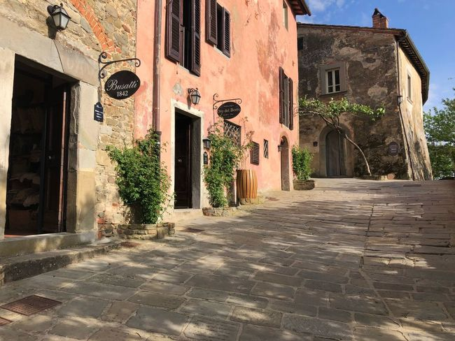 Il Borro Ferragamo Building Exterior Architecture Built Structure Building Residential District City The Way Forward No People House Sunlight Window Tree Direction Day Outdoors Street Town Nature Footpath Plant