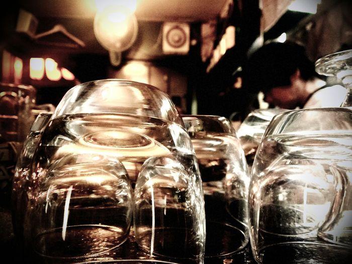 Eating 屋台村 People