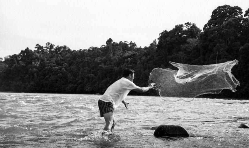 Catching fishes pt 1 EyeEm Black&white! Film Filmisnotdead Believeinfilm Borneo Sarawak