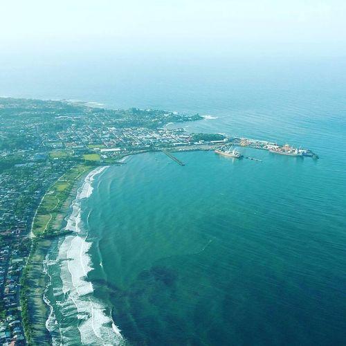 Pto Limon. Costa vida Sea Water Outdoors Beach No People Aerial View Nature