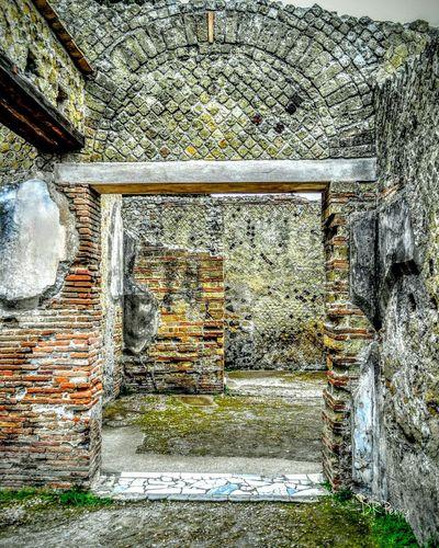Herculaneum Door Doors Scavi Excavation Italy Italia Architecture Ancient Architecture Ancient Civilization Arch