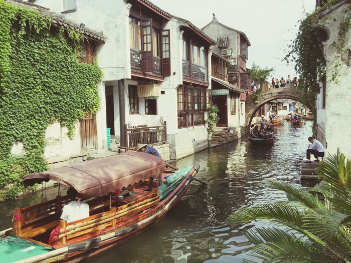 The Architect - 2015 EyeEm Awards Zhouzhuang China. Traditional House By The River Holiday Trip Sunshine ☀