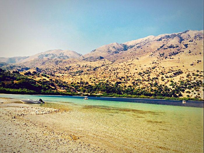 Scenic shot of calm lake