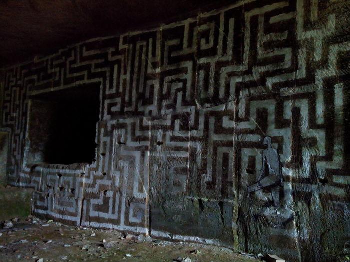 Un signe de civilisations inconnues ? Unknown Extraterrestre Pierre Labyrinthe