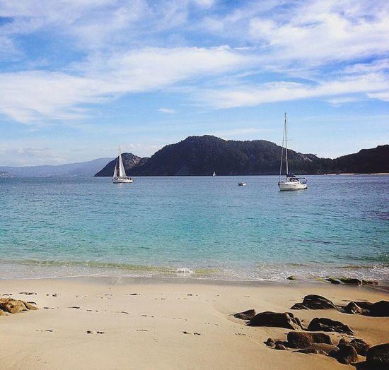 IPhoneography Iphone6plus Islas Cies Vigo Galicia Galifornia Amazing Nature Beach Photography