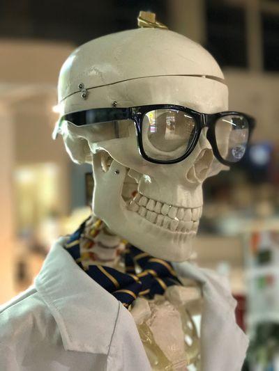 Headshot Close-up Headwear Portrait Indoors  One Person Day People Skelleton Skeleton Skeletor Portrait Model Iphone 7 Plus Portrait Modus IPhone 7 Plus IOS 10.1 Depth Of Field Dressed To Impress Lol Dressed Skeleton