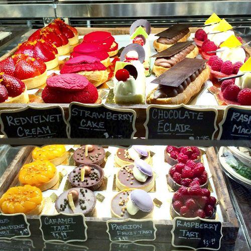 Visual Feast just desserts