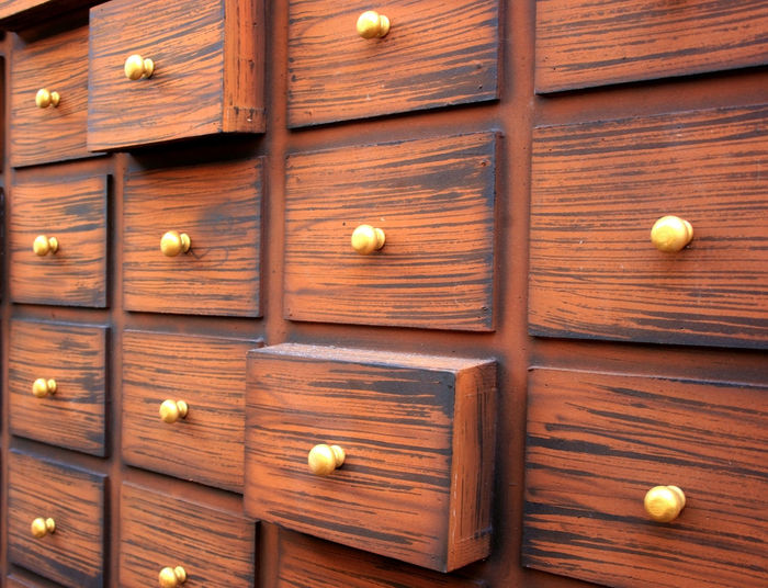Traditional Chinese medicine chest Cabinet Sickness Chest Aid Medical Chinese Herbal Brown Cupboard Drug Drawer Drugstore Old Treatment Paint Ill Herbs Medication ASIA Medicine Box Wood Care Tradition Emergency Plane Store Antique Ancient Health Shop Pharmacy Eastern Doctor  Asian  Dry China Handle Backgrounds