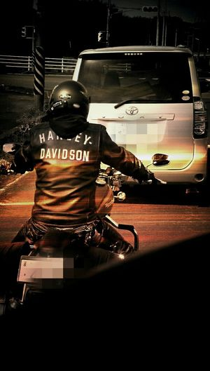 Good luck👍👍 Haley Davidson Rider Cityscapes Taking Photos EyeEm Best Shots Xperiaz2 Getting Inspired Kagoshima