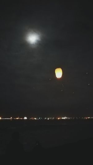 Año Nuevo  Deseos Moon Full Moon Night No People Illuminated Sky Outdoors