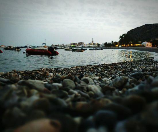 Beach Barcas Boats Embarcadero Calahonda Granada, Spain Port Anochecer Twilight Sea Bahia Blur Far Rocks Rocks And Water Pueblos De España Hidden Gems  The Great Outdoors - 2017 EyeEm Awards Live For The Story