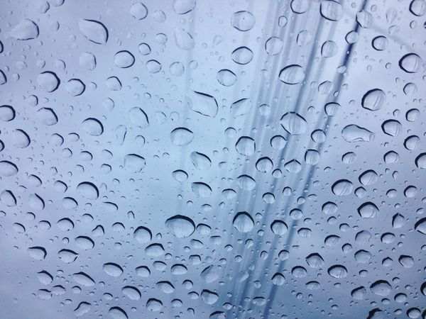 Backgrounds Glass - Material Full Frame Transparent Drop Water Rain Wet Window No People Close-up Purity Nature Day Fragility Outdoors EyeEm Best Shots RainDrop