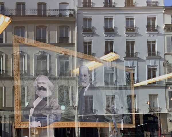 Paris Windowshopping Reflection City Street