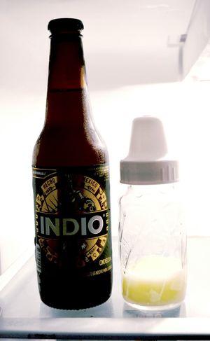 Nueva vida, nuevo refri. Beer Baby Bottle Fridge
